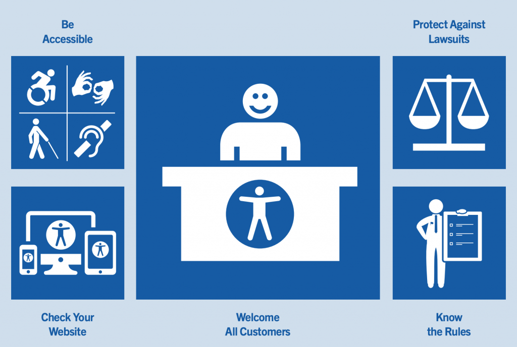 Accessibility Guidelines Illustration
