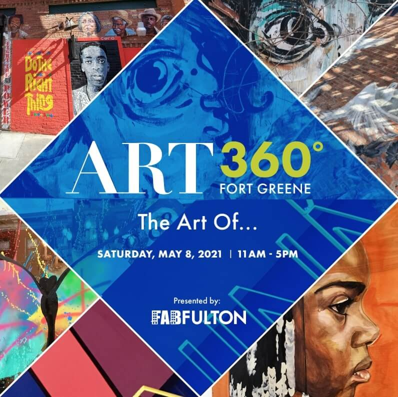 Date and Time of ART 360 event with multiple art images