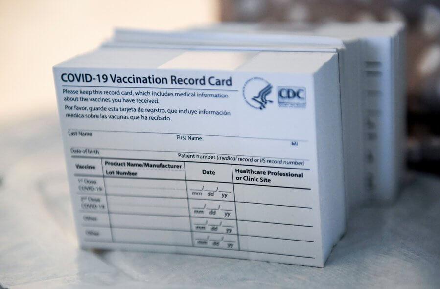 Covid Vaccination card